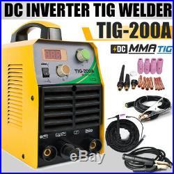 ARC TIG Welding Machine DC Inverter 220V ARC/MMA/Stick Welder with TIG Torch