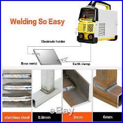 ARC Welder Dual Volt IGBT Welding Machine DC Inverter 90V-260V Stick MMA Welders