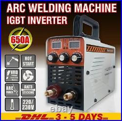 ARC Welding Machine IGBT 220V MMA650S Inverter Hot Start/ARC Force Stick Welder