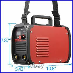 ARC Welding Machine MMA 60-160 AMP 110/220V IGBT Welder DC Inverter LED Display