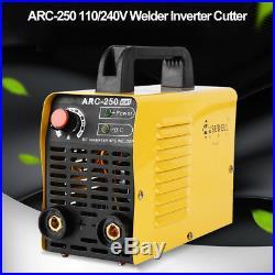 ARC250 2P/220V Dual Voltage 20-160a ARC DC Digital Inverter Mini Welding Cutter