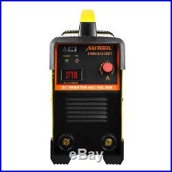 AUTOOL 20-160A Handheld Welding Machine EWM-508 Arc Inverter Welder IGBT 110V