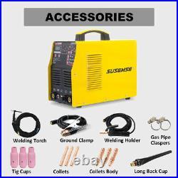 Aluminum Welder Pulse IGBT Dual Volt 110V/220V TIG ARC Stick Welding Machine