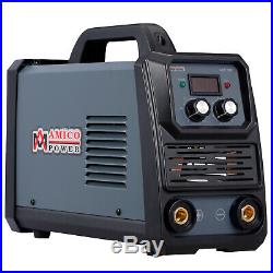 Amico 180 Amp Stick Arc DC Welder, 100250V Wide Voltage, 80% Duty Cycle
