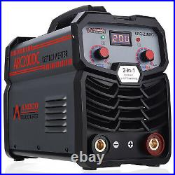 Amico ARC-200DC, 200 Amp Stick/Lift-TIG Welder, 100-250V & 80% Duty Cycle