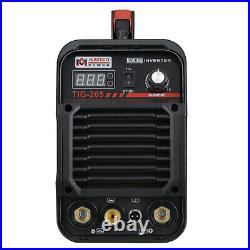 Amico TIG-205, 205 Amp HF-TIG/Stick Arc DC Welder, 115/230V Dual Voltage Welding