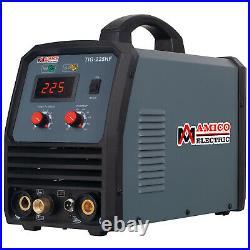Amico TIG-225HF, 225A TIG/Arc/Stick DC Welder, 100% HF-Start, 80% Duty Cycle