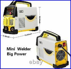 Arc Welder 110V-220V IGBT Inverter DC Welding Machine 160A Household Arc Welder