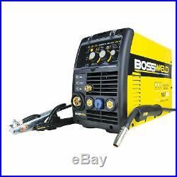 Bossweld 180A MST185 MIG, Stick Arc And TIG Inverter Welder AUSTRALIA BRAND
