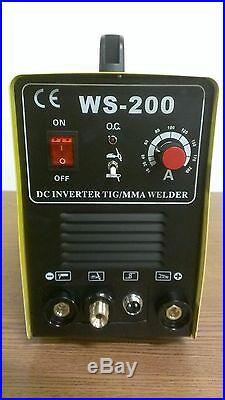 CAL Electric NEW Welder Tig & MMA Welder 200AMP DC Inverter 2 in 1 Welder TIG