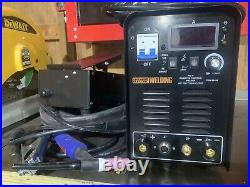 Chicago Electric 240 Volt Inverter Arc/TIG Welder With Digital Readout