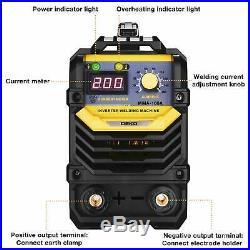 DEKO Welder Machine 110/220V MMA ARC IGBT Digital Display LCD Hot Start Welder