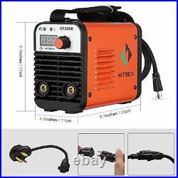 Dual Volt ARC Welding Machine Rod Stick 110/220V Mini Portable Inverter Welde
