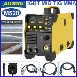 Electric Welding Machine IGBT MIG TIG Inverter ARC MMA Stick Welder With Gas