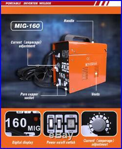 Etosha MIG 160Amp AC Welder Inverter ARC Metal Welding Machine Portable
