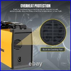 Flux Core MIG Welder TIG ARC Wire Gas/Gasless Welding Machine Inverter Welder