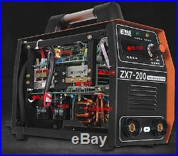 Free shipping 220V ZX7-200 DC Inverter Welding Equipment Portable Welder Machine