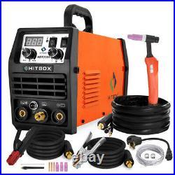 HBT2000 LED TIG Welder 200AMP 110V/220V HF Inverter MMA TIG ARC Welding Machine