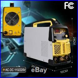 HF TIG&ARC Portable AC DC 110V/220VInverter Welder 200 Amp