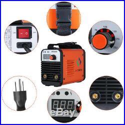 HITBOX 110V 220V AT2000 ARC Welder Dual Volt Inverter Rod Stick Welding Machine