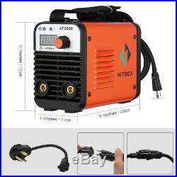HITBOX 110V 220V Inverter Welder Mini Handheld Arc Welding Machine MMA 20-160A