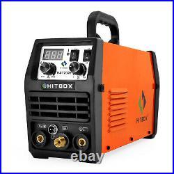 HITBOX 200 Amp 110/220V TIG/MMA ARC 2in1 Welder IGBT DC Inverter Welding Machine