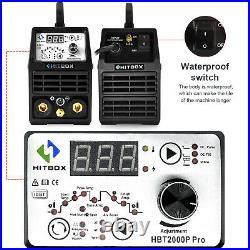 HITBOX 200A ARC TIG Welder DC 110V/220V MMA Stick Pulse TIG IGBT Inverter Welder