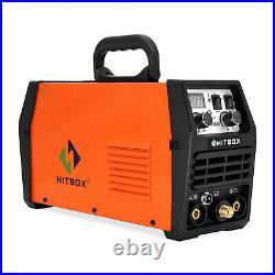 HITBOX 200A TIG Welder 110V/200V IGBT Inverter Stick ARC TIG Welding Machine