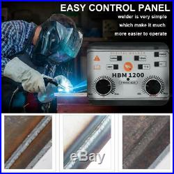 HITBOX 3in1 220V LIFT TIG ARC Inverter Flux Core Wire Gasless MIG Welder Machine