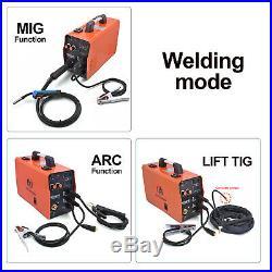 HITBOX 3in1 MIG250 220V 200A ARC Lif TIG MIG Welder Inverter MIG Welding Machine