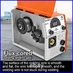 HITBOX 4in1 MIG Welder Inverter Gas/Gasless MAG 220V IGBT ARC MIG MMA TIG Welder