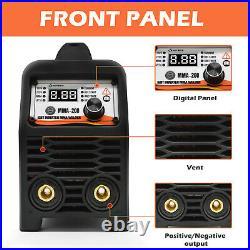 HITBOX ARC STICK TIG 3-IN1 Welder 110V 220V Dual Voltage 180A MMA Welding Machin