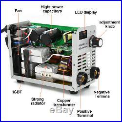 HITBOX ARC Welder 110/220V 200A IGBT Inverter ARC Rod Stick Welding Machine
