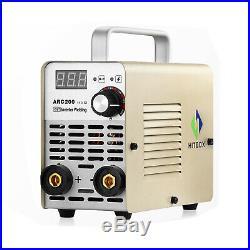 HITBOX ARC Welder 200A 110/220V Dual Volt Inverter ARC Stick Welding Machine