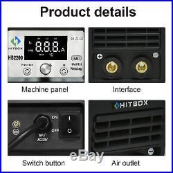 HITBOX ARC Welder 200A Stick IGBT Digital Inverter 220V Lift TIG Welding Machine