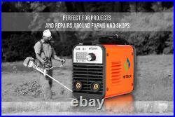 HITBOX AT2000 ARC Welder Inverter 110V 220V Dual Volt Rod Stick Welding Machine