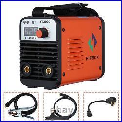 HITBOX Dual Volt 110/220V AT2000 Welder MMA ARC Welding Machine Inverter Welder