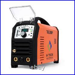 HITBOX HF Pulse TIG Welder 200A IGBT DC 220V INVERTER TIG ARC MMA Welder TIG200P