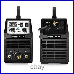 HITBOX HF TIG Welder 200A 110V 220V Inverter IGBT TIG Stick ARC Welding Machine