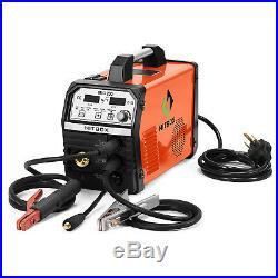 HITBOX Inverter MIG ARC TIG Welder Gas Gasless 220V MIG TIG ARC Welding Machine