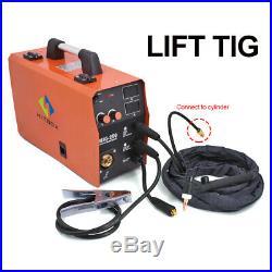 HITBOX MIG Welder 220V 200A ARC Stick Lift TIG MIG Welding Machine Inverter IGBT