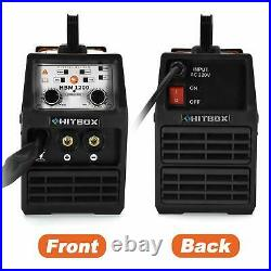 HITBOX MIG Welder 220V LIFT TIG ARC Inverter Wire Gasless Welding Machine MIG120