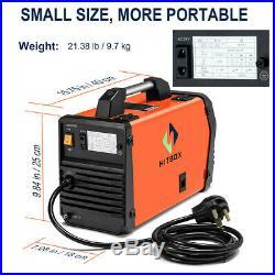 HITBOX MIG200 Welder Gas Gasless MIG ARC Lift TIG Inverter Welding Machine