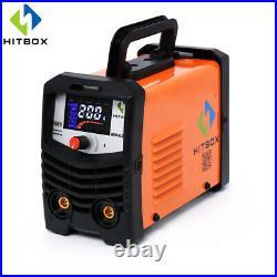 HITBOX MMA200 ARC Welding Machine 220V 110A Inverter ARC Stick Lift TIG Welder
