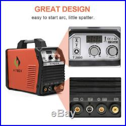 HITBOX T2000 TIG Welder MMA ARC Stick 220V Welding Machine Inverter Accessories