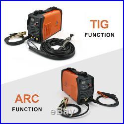 HITBOX TIG 200 AC/DC 220V Pulse Inverter Welder Aluminum ARC TIG Welding Machine