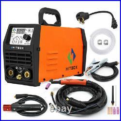 HITBOX TIG 200 Welder Pluse Inverter HF 200A 110v 220V ARC TIG Welding Machine