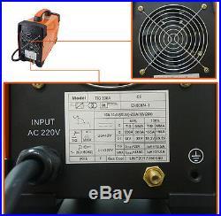 HITBOX TIG 200AMP Welder High Frequency IGBT Inverter TIG ARC Welding Machine