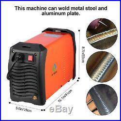 HITBOX TIG Welder AC/DC Pulse 220V Inverter TIG200P MMA ARC Welder Weld Aluminum