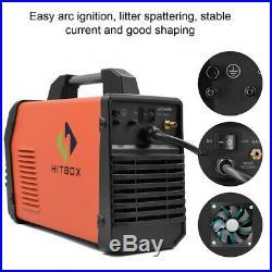 HITBOX TIG Welder Digital inverter 220V 200A TIG MMA ARC Stick Welding Machine